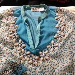 Seaside inspired tunic